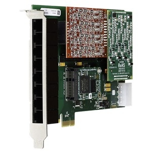 8 Port Analog PCI-Express Cards