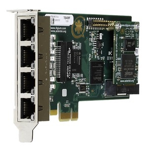 Four Span Digital T1/E1/J1/PRI Cards