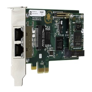 Two Span Digital T1/E1/J1/PRI Cards